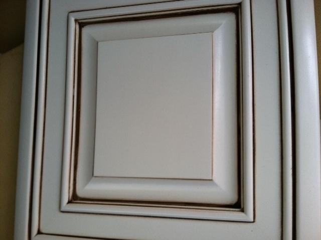 Attrayant Pinstripped Cabinet Door.